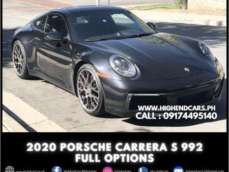 2020 PORSCHE CARRERA S 992 FULL OPTIONS