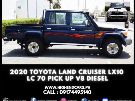 2020 TOYOTA LAND CRUISER LX10 LC 70 PICK UP V8 DIESEL