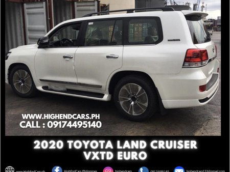 2020 TOYOTA LAND CRUISER VXTD EURO