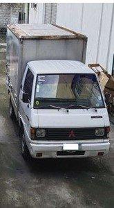 2008 White Mitsubishi L300 Van good price in Pasig
