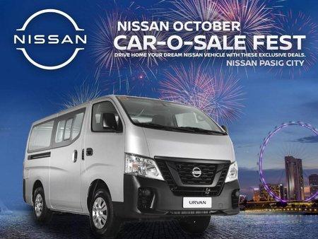 Selling Silver Nissan Nv350 urvan 2020 in Pasig