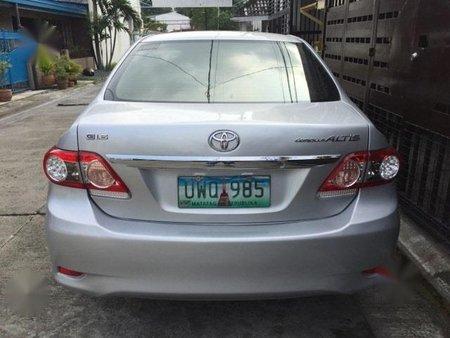 Silver Toyota Corolla Altis 2014 for sale in Quezon City