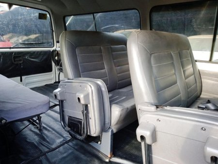Pearl White Nissan Urvan 2013 for sale in Cavite