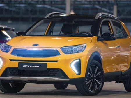 The New 2021 Kia Stonic 1.4 lx AT 6 Speed