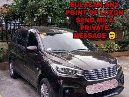Selling Black Suzuki Ertiga 2020 in Manila