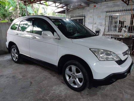 White Honda CR-V 2008 SUV for sale in Manila