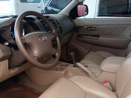 Black Toyota Fortuner 2008 for sale in Quezon City
