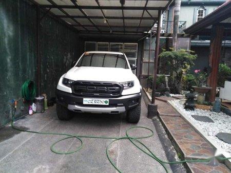 Sell White 2020 Ford Ranger Raptor in Quezon City