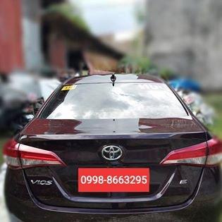 Toyota Vios E | m/t 2019 | 560k cash 580k LOAN| Blackish redmica | mileage:9,000km CASH 560,000.00