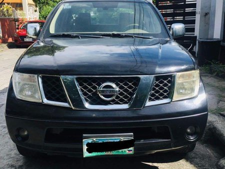 Black Nissan Navara 2009 for sale in Muntinlupa City