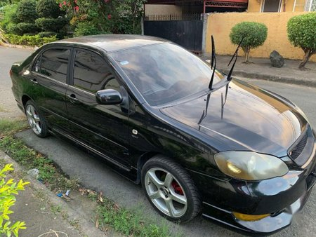 Black Toyota Corolla Altis 2005 for sale in Manila