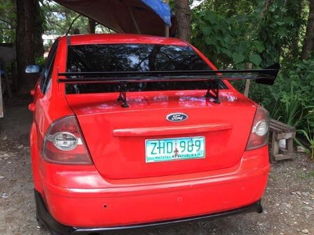 Selling Orange Ford Focus 2007 in Manila