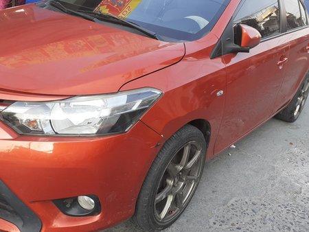 Toyota Vios E m/t 2015 Metallic Orange