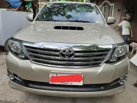 2015 Toyota fortuner  G 4x2 VNT