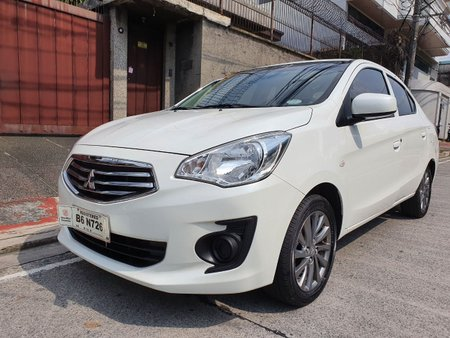 Reserved! Lockdown Sale! 2019 Mitsubishi Mirage G4 1.2 GLX Manual Pearl White 4T Kms Only B6N726