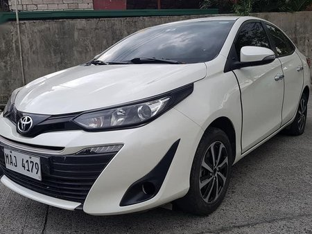 Selling Pearl White Toyota Vios 2019 in San Mateo