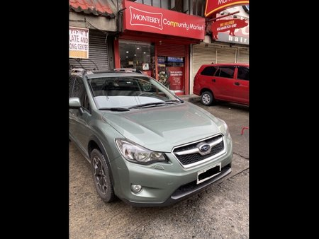 Green Subaru XV 2015 for sale in Manila