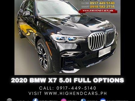 2020 BMW X7 5.0i FULL OPTIONS