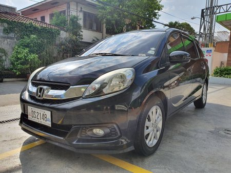 Lockdown Sale! 2016 Honda Mobilio 1.5 V 7-Seater Automatic Black 43T Kms DS2148
