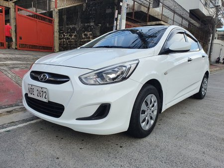 Lockdown Sale! Calasiao, Pangasinan 2016 Hyundai Accent 1.4 GL Manual White 51T Kms NDE2672