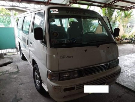 White Nissan Urvan Escapade 2011 registered 2020 for sale in Quezon City