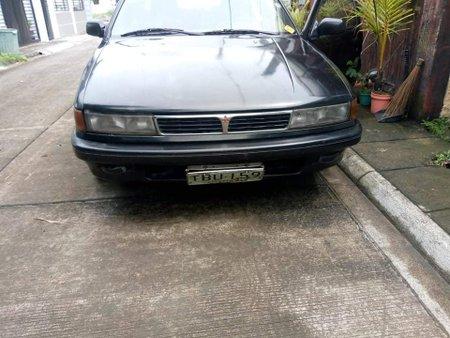 1991 Mitsubishi Lancer GLXi Black