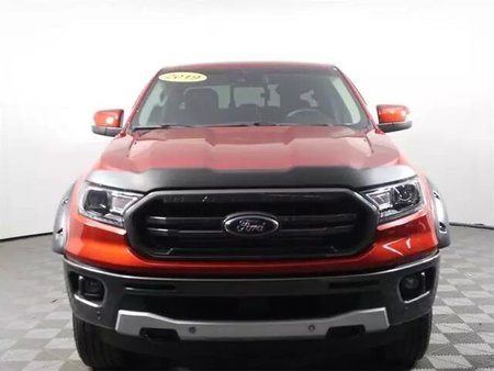 Hot Pepper Red 2019 Ford Ranger Lariat 4D SuperCrew Cab RWD