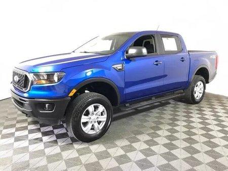 Lightning Blue Metallic 2019 Ford Ranger XL SuperCrew 5' Box 2WD