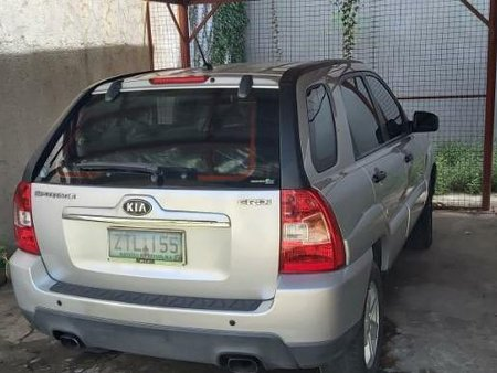 Silver Kia Sportage 2009 for sale in Muntinlupa