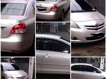 Silver Toyota Vios 2009 for sale in Pasig