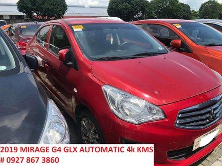 2019 Automatic Mitsubishi Mirage G4 GLX Red 4K kms Rush Sale