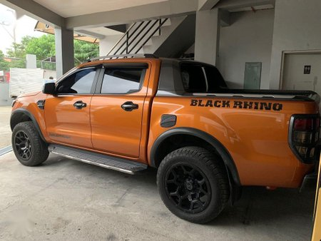 Orange Ford Ranger 2018 for sale in Manila