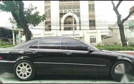 Black Mercedes-Benz 320 2001 for sale in Marikina City
