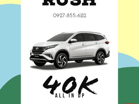 40K ALL-IN DOWNPAYMENT! RUSH 2021