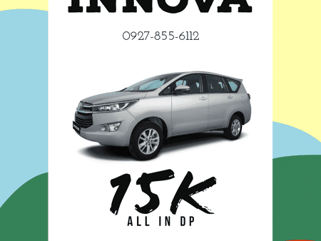15K ALL-IN DOWNPAYMENT! INNOVA 2021