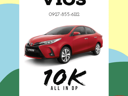 10K ALL-IN DOWNPAYMENT! TOYOTA VIOS 2021