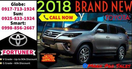 Latest Toyota Fortuner for Sale in Las Piñas Metro Manila