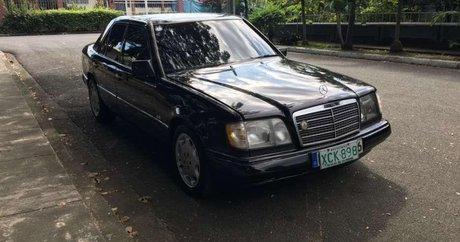 Black Mercedes-Benz W124 best prices for sale - Philippines