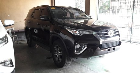 Black Toyota Fortuner 2018 best prices for sale - Philippines