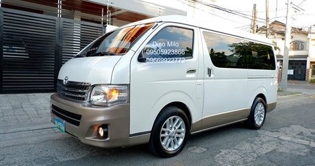10,001+ Toyota Hiace for Sale at Lowest Prices - Philippines