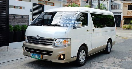 Cheapest Used Toyota Hiace Van for Sale - Philippines