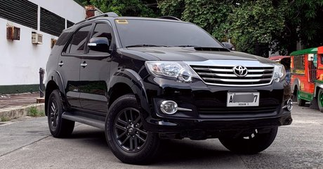10,001+ Toyota Fortuner for Sale at Lowest Prices - Philippines