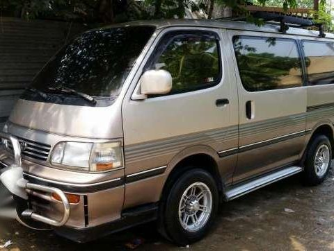 Toyota Hi ace Grandia Super Custom 1Kz turbo diesel
