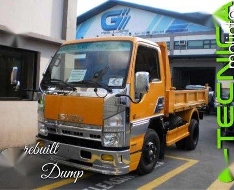 Isuzu forward dump truck recon rebuilt elf nkr npr frr