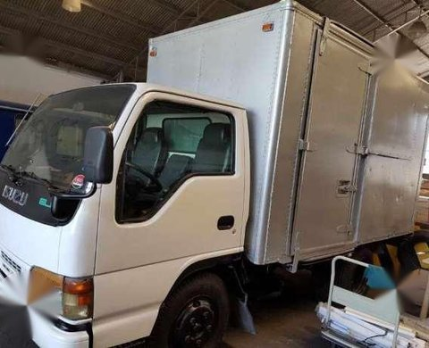 2015 Isuzu Elf Nkr Aluminum van vs canter
