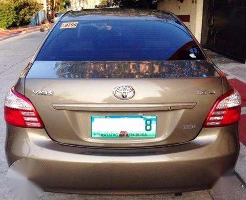2013 Toyota Vios 13J MT Golden for sale