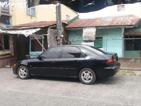 Honda Civic ESI 1995 model Black for sale