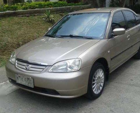 Honda Civic Vti S Dimension 2001 Model 176869
