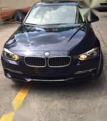 2012 Bmw 320d Luxury Line Blue At For Sale