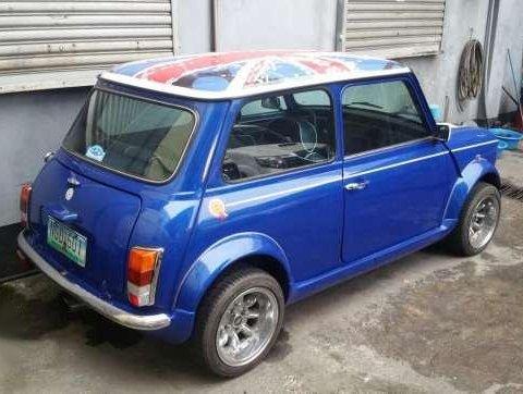 1992 Classic Mini Cooper AT Blue For Sale